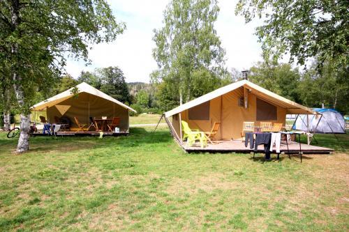 Tentes Lodges